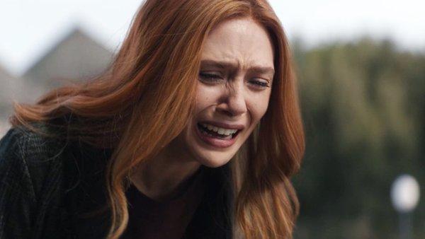 Wandavision episode 8 wanda crying