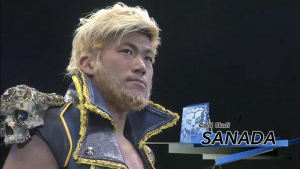 SANADA NJPW
