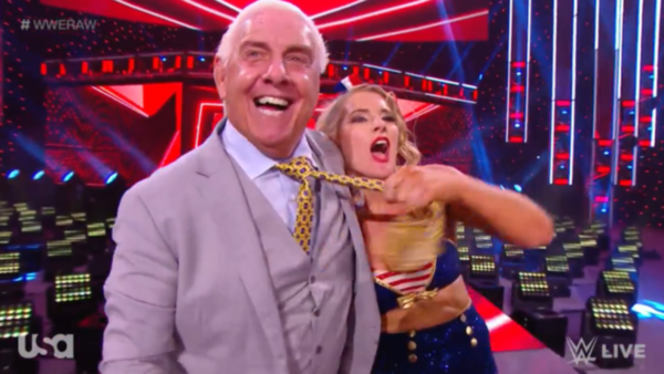 Ric Flair Lacey Evans
