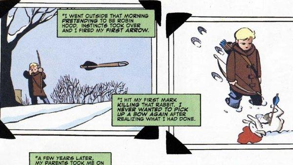 Green Arrow Kills Prometheus 1