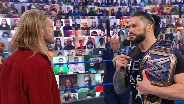 Roman Reigns Edge Paul Heyman