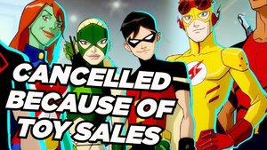 Young Justice Toy Sales