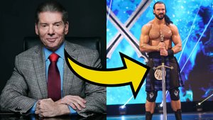 Vince McMahon Drew McIntyre Sword