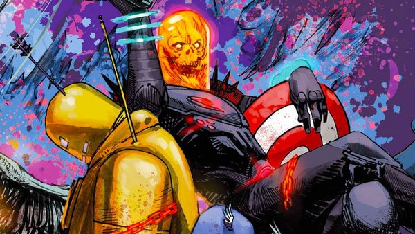 Cosmic Ghost Rider Destroys The Marvel Universe