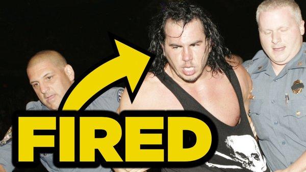 Matt Hardy Fired