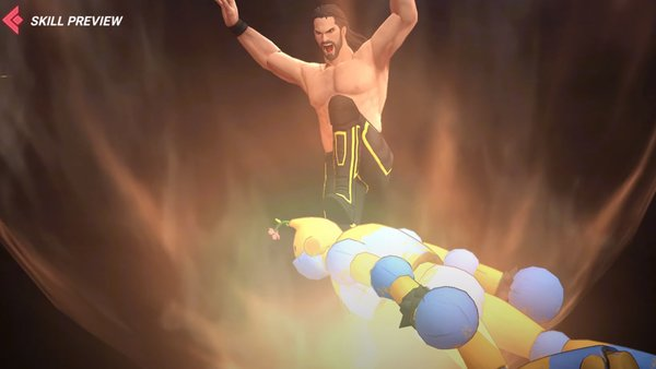 King Of Fighters All Star Seth Rollins