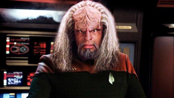 Worf Captain Enterprise E Picard Star Trek