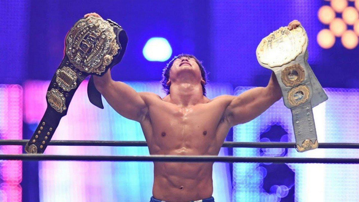 NJPW объединяет титулы