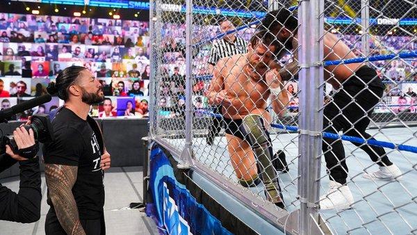 Roman Reigns Daniel Bryan Jey Uso