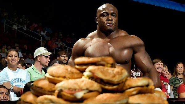 Bobby Lashley burgers
