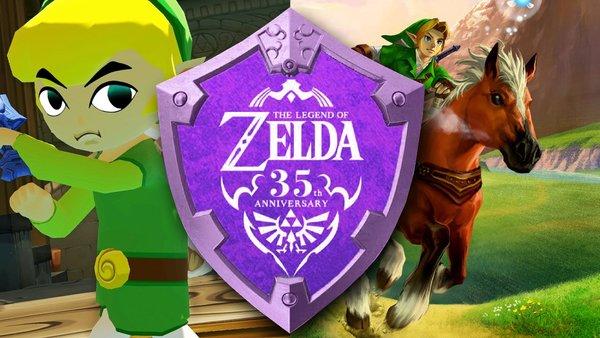 Zelda 35th anniversary