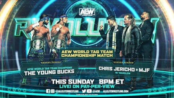 AEW Revolution 2021 The Young Bucks Chris Jericho MJF Wardlow