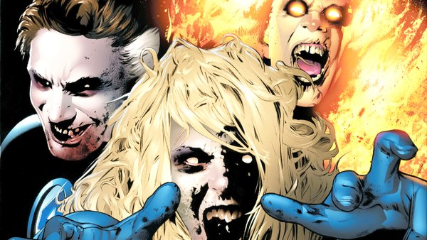 Fantastic Four Zombies