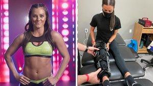 WWE NXT's Kacy Catanzaro Confirms Knee Injury