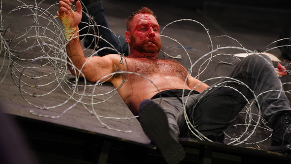 Jon Moxley Barbed Wire