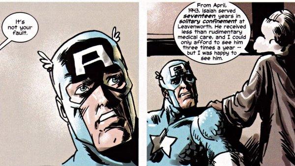 Truth Red White & Black Captain America