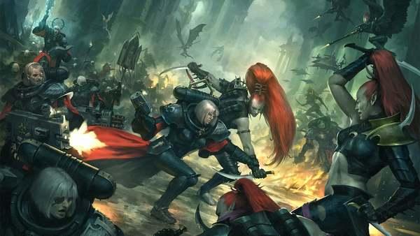 Drukhari Sororitas Warhammer 40k