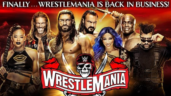 HUGE Star Removed From New WWE WrestleMania 37 Promotional Graphics