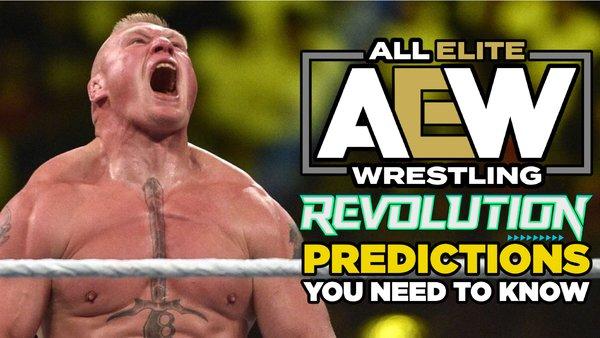 Brock Lesnar AEW Revolution