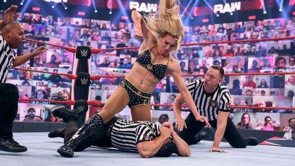 Charlotte Flair Referee