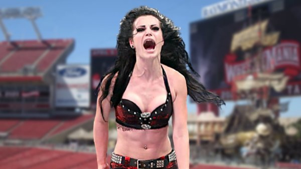 Paige WrestleMania