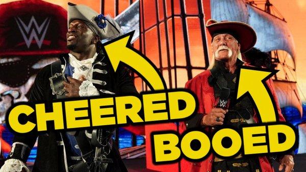 Titus O'Neil Hulk Hogan WWE WrestleMania 37