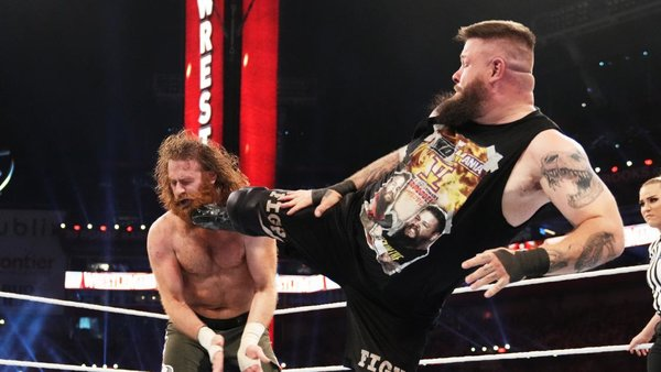 WWE WrestleMania 37 Kevin Owens Sami Zayn