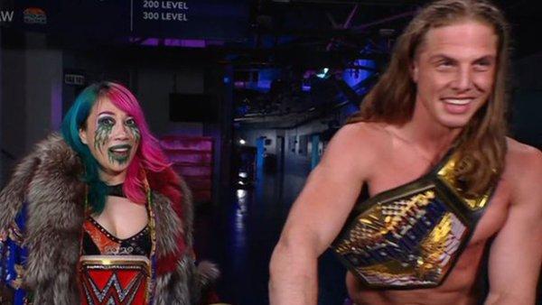 Asuka Riddle Promo Botch WWE Raw