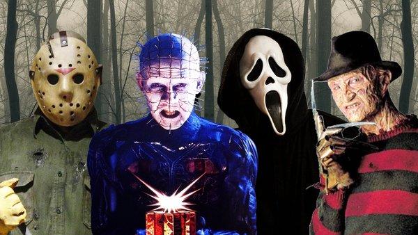 Jason Voorhees Pinhead Ghostface Freddy Krueger