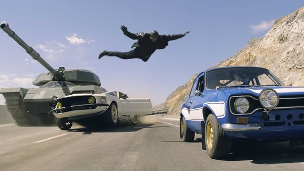 Fast and Furious 6 Tyrese