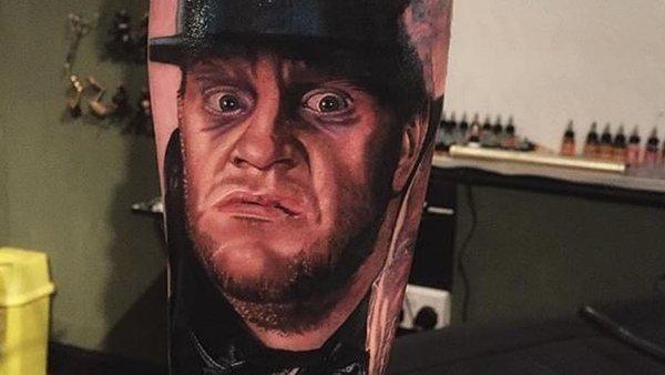 Photo Realism Undertaker Tattoo