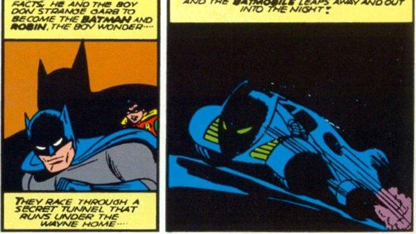 Batmobile Origin