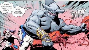 King Shark Suicide Squad DC Comics