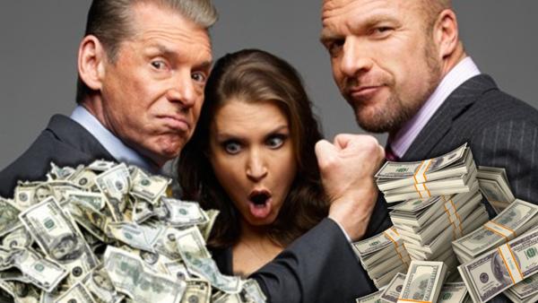 Vince McMahon Stephanie McMahon Triple H Money
