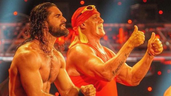 Seth Rollins Hulk Hogan