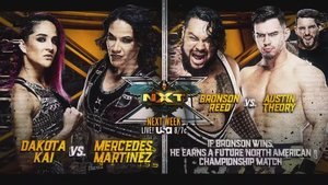 3 New Matches Set For Next Week's WWE NXT