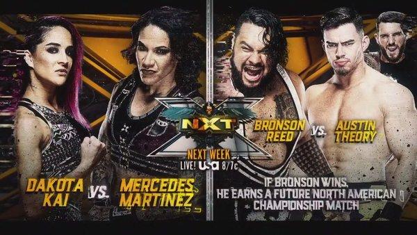 NXT matches