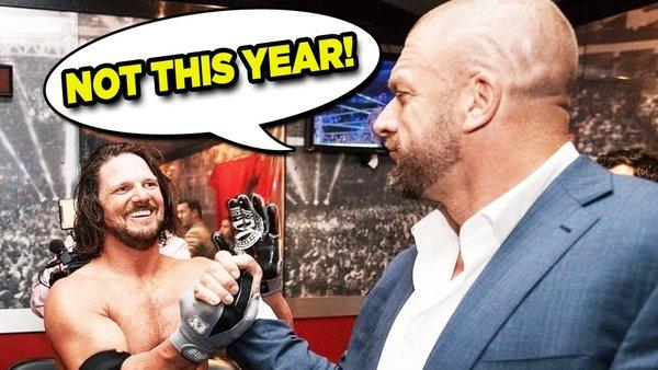 AJ Styles Triple H