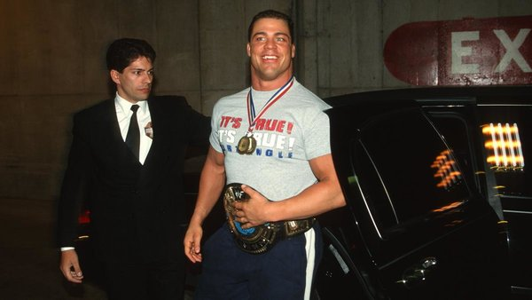 Kurt Angle WWE Champion