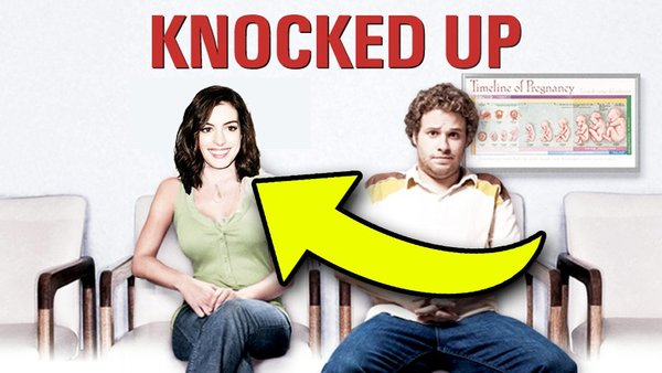 anne hathaway knocked up
