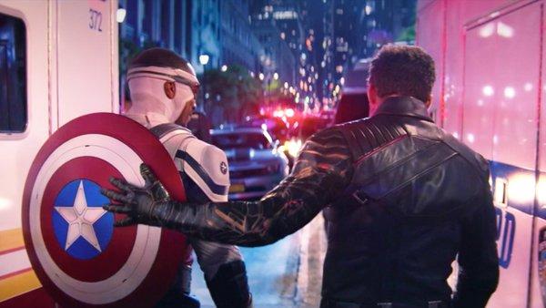 The Falcon and the Winter Soldier Sam Wilson Bucky Barnes