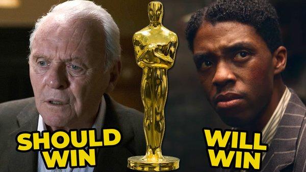 Oscars 2021 Anthony Hopkins Chadwick Boseman