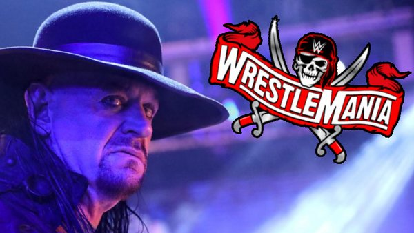 The Undertaker WWE WrestleMania 37