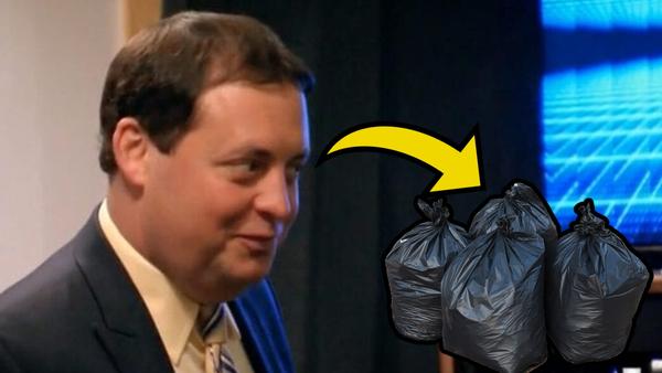 Mark Carrano trash bags