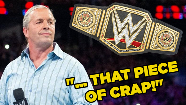 Bret Hart piece of crap