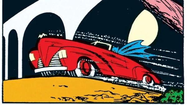 Batmobile DC Comics