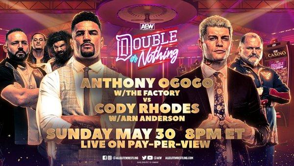 Cody Rhodes Anthony Ogogo