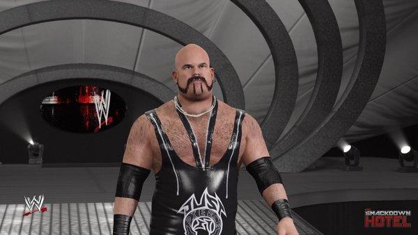 WWE 2K17 Albert