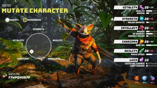 Biomutant Character Creator Lets You Make An Actually Unique Player 1