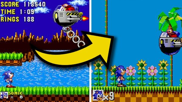 Sonic the hedgehog 2 master system